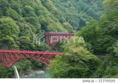 黒部川に架かる橋 15759509