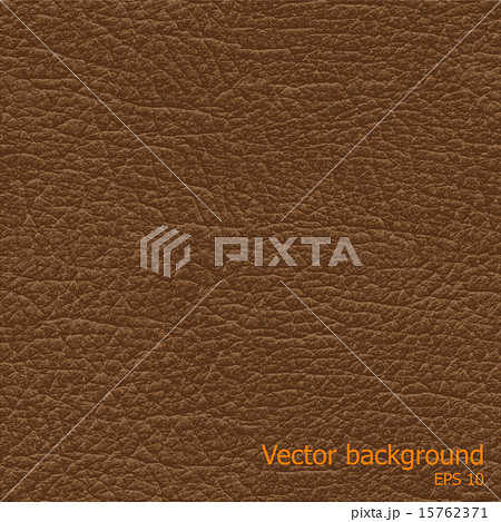 Seamless background of brown leather texture 15762371