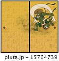 襖 神様 風神雷神図のイラスト 15764739