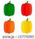 カラーピーマン パプリカ ピーマンのイラスト 15770365