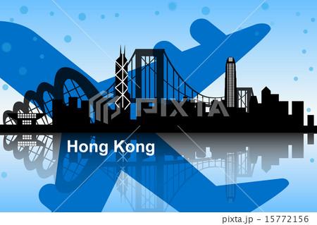 Hong Kong skyline 15772156