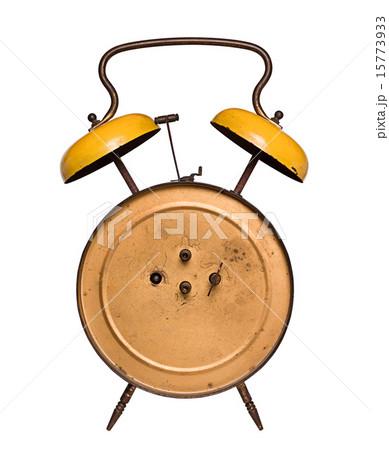 back of an old alarm clockの写真素材 [15773933] - PIXTA