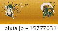 風神雷神図 風神雷神 ベクターのイラスト 15777031