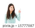 カメラ目線 アジア人 女性の写真 15777087