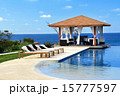 Pavilion with swimming pool 15777597