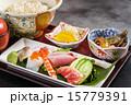 刺身とご飯 Sashimi and rice and miso soup  15779391