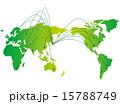 グローバル ネットワーク ベクターのイラスト 15788749