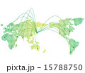 japan map network Vector 15788750