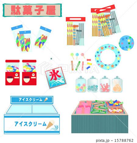 駄菓子屋(夏、雑貨、小物セット)
