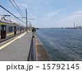 京浜運河 鶴見線 プラットホームの写真 15792145