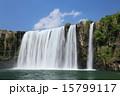 原尻の滝 東洋のナイアガラ 夏の写真 15799117