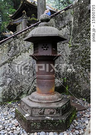 日光東照宮・南蛮鉄燈籠  15800705