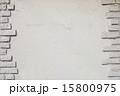 マテリアル 白 レンガの写真 15800975