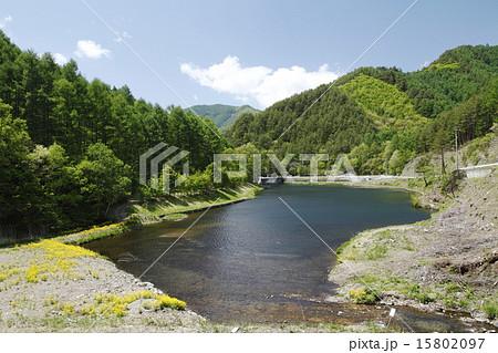 加和志湖(北相木村)の写真素材 [15802097] - PIXTA