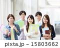 同級生 大学生 笑顔の写真 15803662