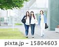 同級生 女子学生 大学生の写真 15804603