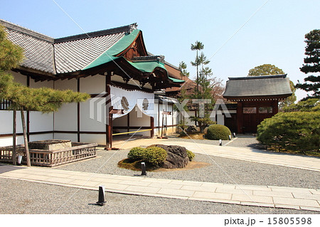 京都 大覚寺(式台玄関) 15805598