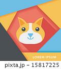 ペット 愛玩動物 猫のイラスト 15817225