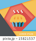pie flat icon with long shadow,eps10 15821537