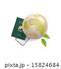 パスポート イラスト イラストレーションのイラスト 15824684