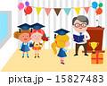 教室風景 先生 教師のイラスト 15827483
