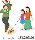 人 女性 運動のイラスト 15829389