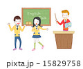 先生 教師 女子のイラスト 15829758