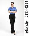 若い女性 ビジネスウーマン スマイルの写真 15844285