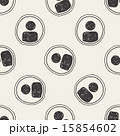 Doodle Character sign seamless pattern background 15854602