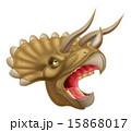Triceratops Dinosaur Head 15868017