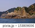 天然記念物 笹川流れ 海岸の写真 15869606