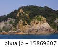 天然記念物 笹川流れ 海岸の写真 15869607