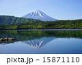 5月風景・富士山775新緑の西湖 15871110