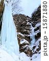 氷瀑 雲竜滝 氷柱の写真 15871880