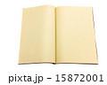 ご朱印帳 開く 無地の写真 15872001