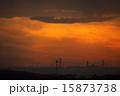 工場地帯 夕焼け 夕暮れの写真 15873738