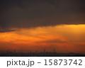 工場地帯 夕焼け 夕暮れの写真 15873742
