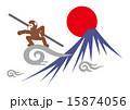 悟空と富士山 15874056