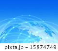 ネットワーク テクノロジー 地球のイラスト 15874749