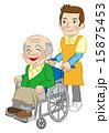 ヘルパー ベクター 車椅子のイラスト 15875453