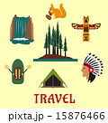 Travel concept with Canadian nature 15876466