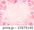 背景 花 ピンクのイラスト 15879146