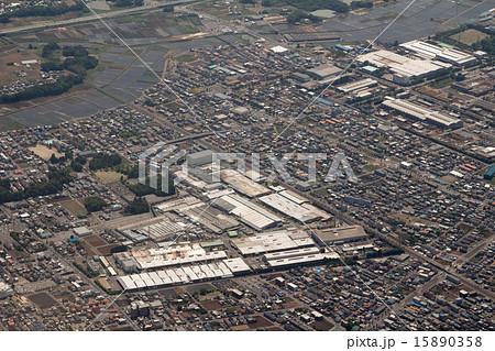 栃木県小山市の小山第一工業団地付近を空撮 15890358