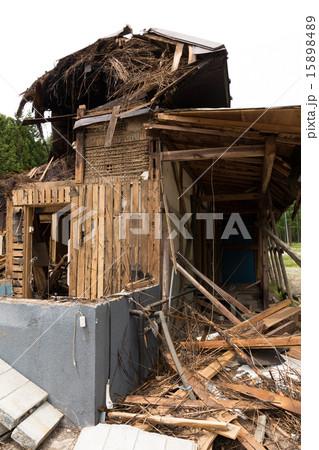古民家の解体工事 15898489