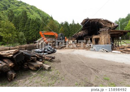 古民家の解体工事 15898492
