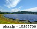 ソーラーパネル 太陽電池 太陽光発電の写真 15899709