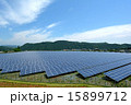 ソーラーパネル 太陽電池 太陽光発電の写真 15899712