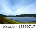 ソーラーパネル 太陽電池 太陽光発電の写真 15899717