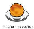シュークリーム おやつ デザートのイラスト 15900401