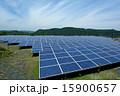 ソーラーパネル 太陽電池 太陽光発電の写真 15900657